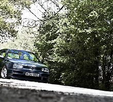 Mk3 Golf In The Trees by Adam Kennedy