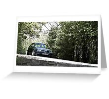 Mk3 Golf In The Trees Greeting Card