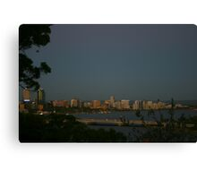 Perth City From Kings Park Canvas Print