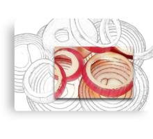 Onion Rings Canvas Print