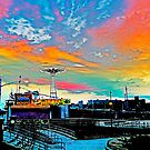 CONEY ISLAND IN LIVING COLOR by KENDALL EUTEMEY