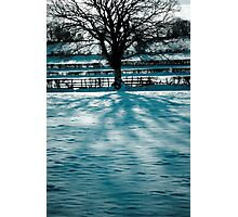 Frozen Hill Photographic Print