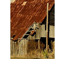 The Old Barn ~ Part Three Photographic Print