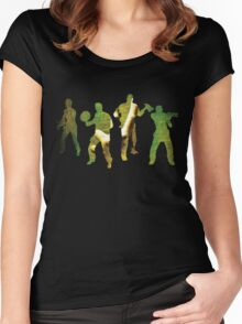 Left 4 Dead 2 Team Women's Fitted Scoop T-Shirt