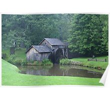 Blue Ridge Parkway's-Mabry Mill Poster