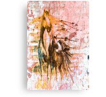 Horses. Canvas Print