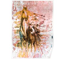 Horses. Poster