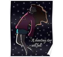 A Shooting Star Will Fall Poster