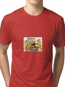 val hallen  Tri-blend T-Shirt
