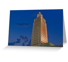 Dusk at the Capitol Greeting Card