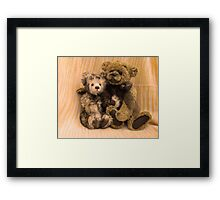 Chanelle & Thomas (I'll be there for you!) Framed Print