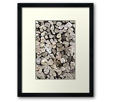 M is for Mauer # 1 Framed Print