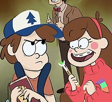 Gravity Falls X Doctor Who by kalowjager