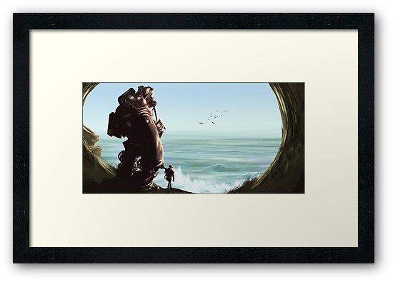Beyond the Sea by dazzamataz