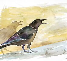 Ravens Shadow by carolyndoe