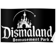Black and white Dismaland Poster