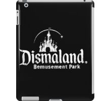 Black and white Dismaland iPad Case/Skin