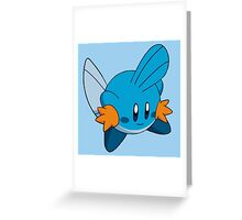 Mudkip | Kirby Edition Greeting Card