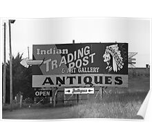 Route 66 - Oklahoma Trading Post Poster