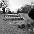 Diana Princess of Wales memorial fountain by Tony Hadfield