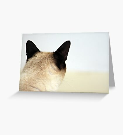C A T  Greeting Card