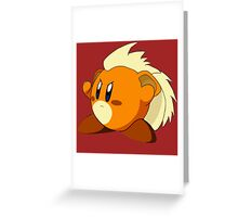 Growlithe | Kirby Edition Greeting Card