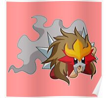 Entei | Kirby Edition Poster