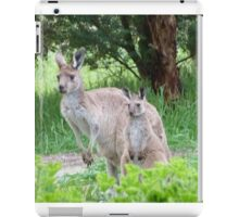 Beautiful Floe & her latest Joey! 'Arilka' Mount Pleasant. iPad Case/Skin