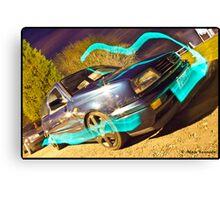 MK3 Golf VR6 Light Painting Canvas Print