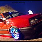 MK3 Golf GTI Light Painted by Adam Kennedy
