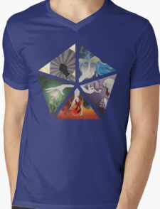 Mana Cycle Mens V-Neck T-Shirt