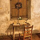A Simpler Time (Carmel Spanish Mission, California) by Brendon Perkins