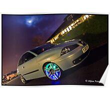 Seat Ibiza TDI On Cupra R Wheels Poster