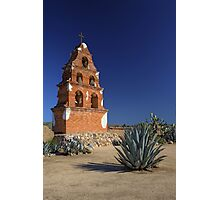Mission Bell Tower (San Miguel Spanish Mission, California) Photographic Print