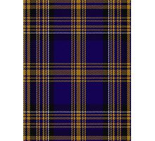 00461 Blue Matheson Hunting Tartan  Photographic Print