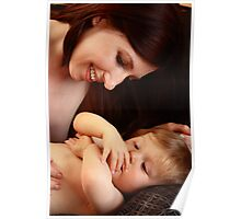 Mother And baby son Poster