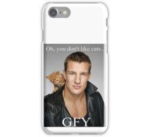 Rob Gronkowski / Cat iPhone Case/Skin