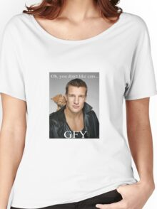 Rob Gronkowski / Cat Women's Relaxed Fit T-Shirt