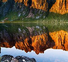 Lake Rhona, South West Tasmania by Kevin McGennan