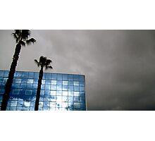 Blue Sky Reflection  Photographic Print