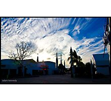 Rockets And Beautiful Skies Photographic Print