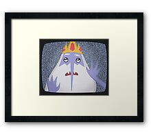 Adventure Time - Ice King 1 - TV Framed Print