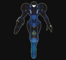 Samus and Metroid Retro by JordiRapture36