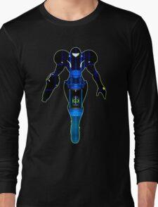 Samus and Metroid Retro Long Sleeve T-Shirt