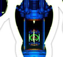 Samus and Metroid Retro Sticker
