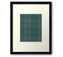00463 Blue Ridge District Tartan  Framed Print