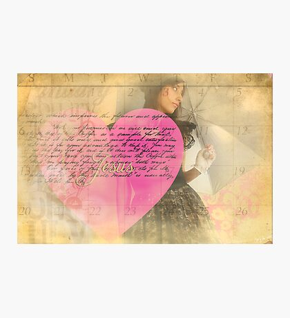 A Waiting Heart Photographic Print