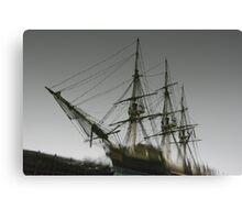 Ghost Ship of Salem, Massachusetts Canvas Print