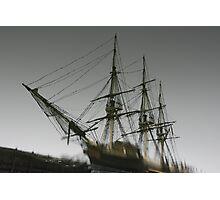 Ghost Ship of Salem, Massachusetts Photographic Print