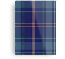 00464 Blue Ridge Highlands Heritage District Tartan  Metal Print